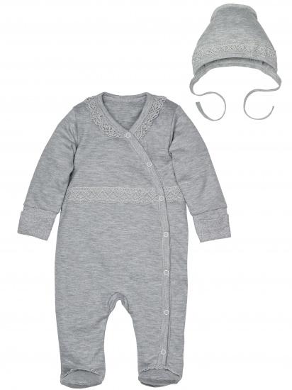 Комплект одежды на выписку для новорожденных 125/2 Камея, серый
