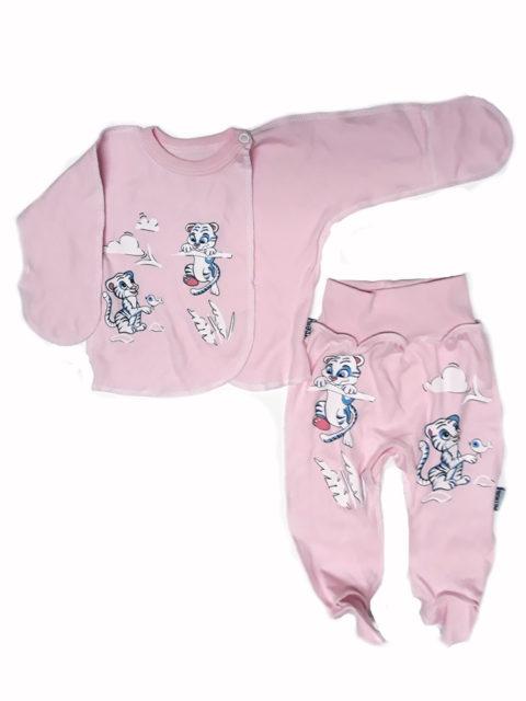 Комплект одежды для новорожденных Amelli 0.193.005/006 Тигрята, розовый