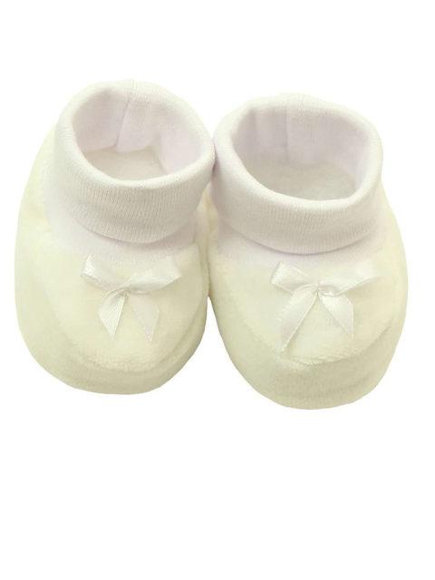 Пинетки для новорожденных Карусель 119, молочный