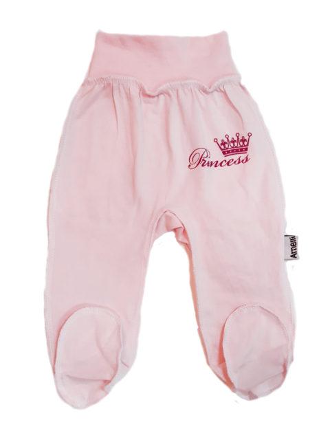 Ползунки для новорожденных Amelli КЛ.230.005.0.146.011 Принцесса, розовый. Одежда для новорожденных
