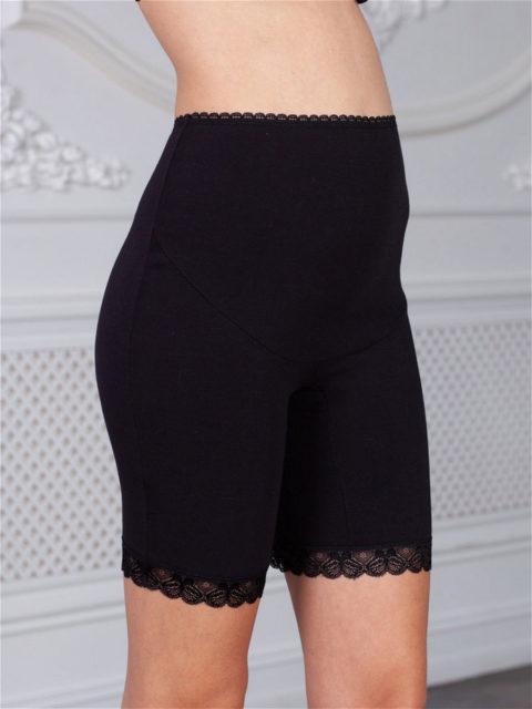 Трусы-панталоны для беременных Хелена, черный. Магазин одежды для беременных