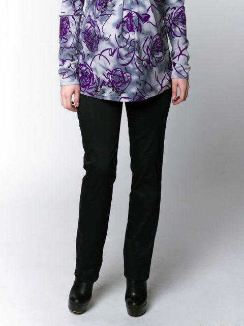 Летние брюки для беременных Крафт, черный (хлопок 95%)