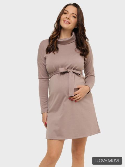Платье для беременных Лорел, кофейный