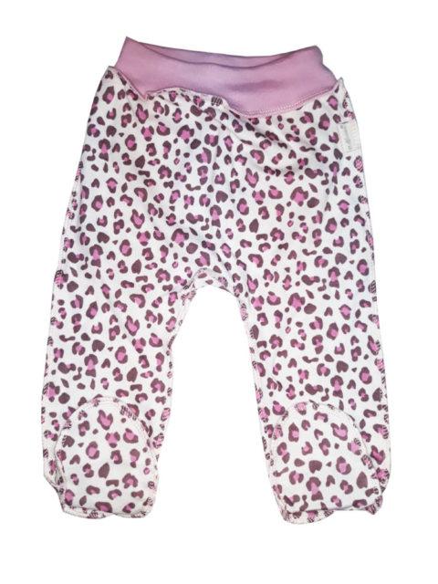 Ползунки Мелонс 205-4, леопардовый/розовый Магазин одежды для новорожденных детей в Санкт-Петербурге