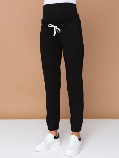Спортивные брюки для беременных Киссея, черный
